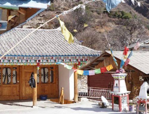 Tibetische Gastfamilie in Yunnan