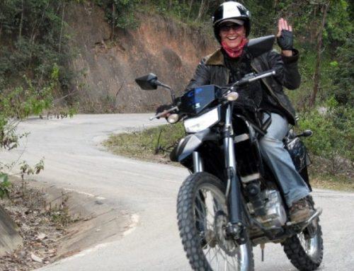 Motorrad fahren in Thailand