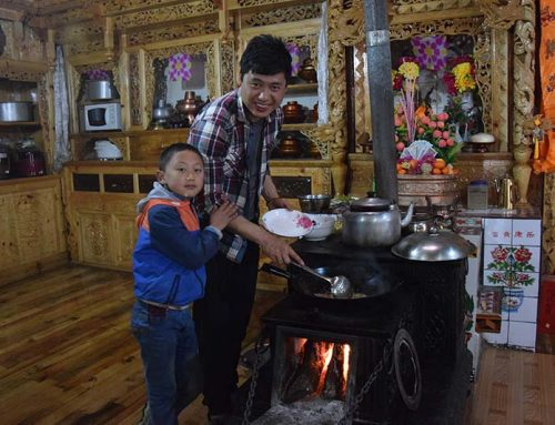 Homestay in Jiabe