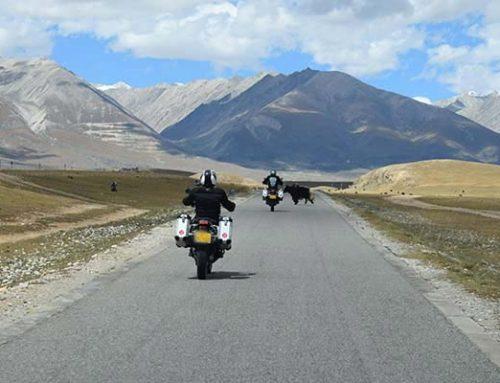 Das perfekte Motorrad für eine Reise durch China